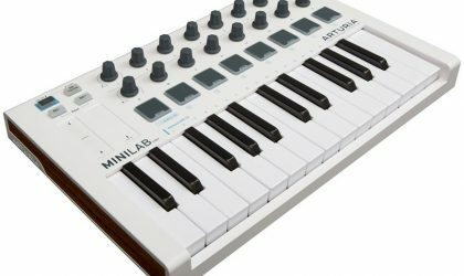 Arturia объявила о выходе миди-клавиатуры MiniLab MkII