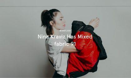 Nina Kraviz записала 91-й диск одноименной серии лейбла Fabric