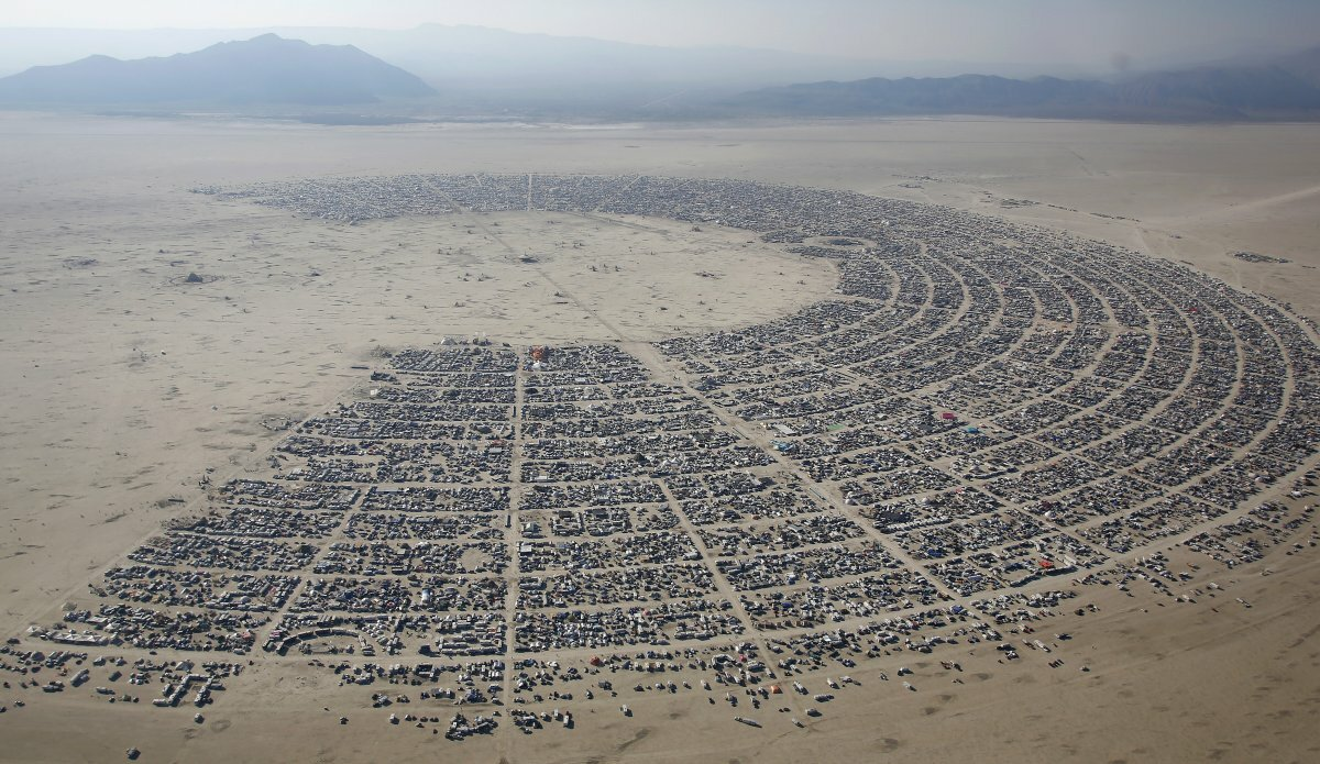 Отменен Burning Man 2021