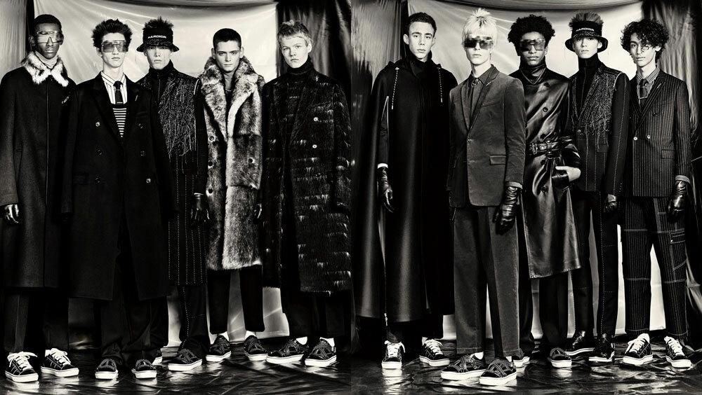 Хардкор-техно вдохновило новую коллекцию Dior Homme – HarDior