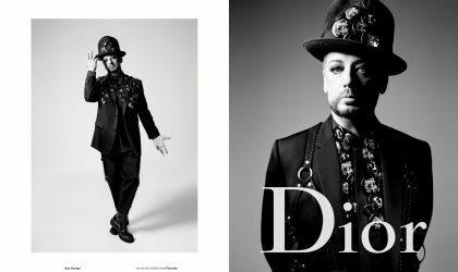 Boy George стал одним из новых лиц Dior Homme