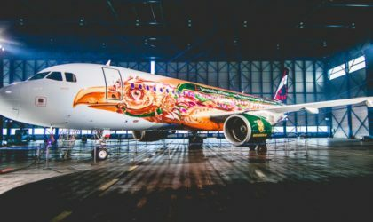 Brussels Airlines сделала самолет в тематике Tomorrowland