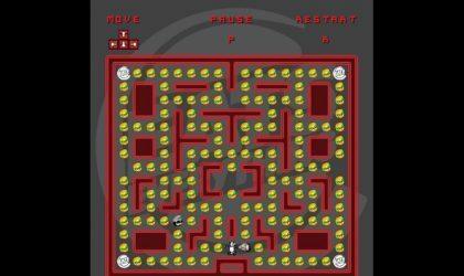 На новом сайте Eats Everything можно сыграть в игру в стиле Pac-Man