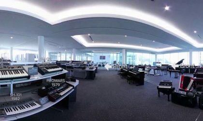 Компания Roland приглашает в виртуальный тур по своему частному музею