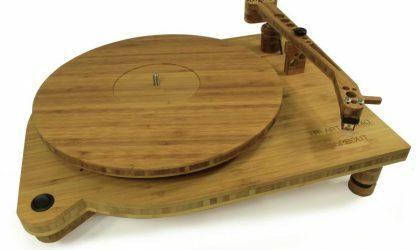 Фирма Tri-Art сделала проигрыватель из бамбука