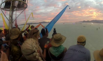 Слушайте сет Anthony Mansfield на Burning Man прошлого года