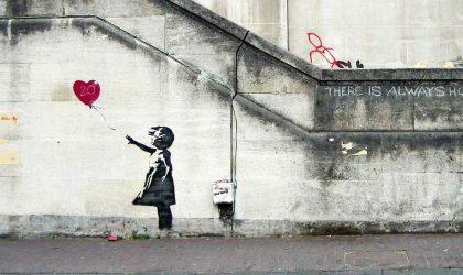 Из-за расследования полиции Banksy отозвал свой принт на тему выборов в Британии