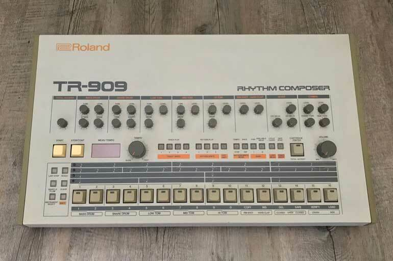 daft punk roland TR-909