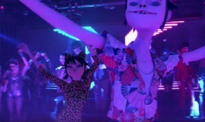 В новом клипе «Strobelight» Gorillaz зажигают на танцполе