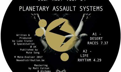 Luke Slater записал новый материал под именем Planetary Assault Systems