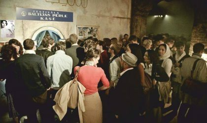 В конце сентября в Риге пройдет кинофестиваль «Балтийская жемчужина»