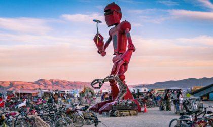 Темой следующего Burning Man станут роботы