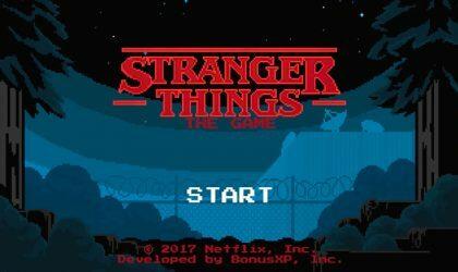 Накануне появления второго сезона сериала «Очень странные дела» вышла игра по его мотивам