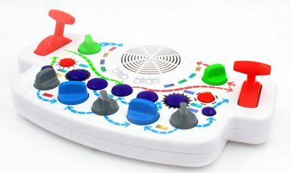 Этот синтезатор создан, чтобы увлечь детей электронной музыкой