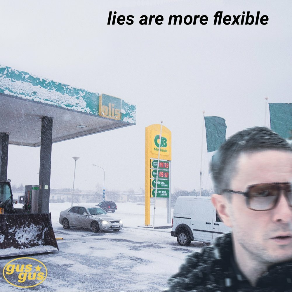 Издан новый альбом GusGus «Lies Are More Flexible»