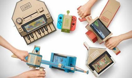 Nintendo выпустит конструктор для сборки картонного пиано