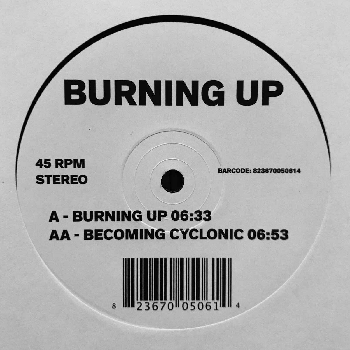 Jimpster – Burning Up/Becoming Cyclonic (Freerange Records)