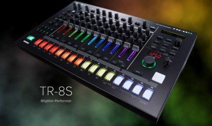 У фирмы Roland появилась новая драм-станция TR-8S