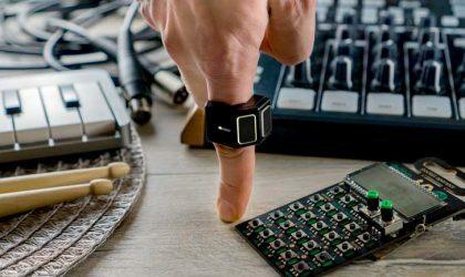 Этот MIDI-контроллер в виде кольца позволяет писать музыку с помощью жестов