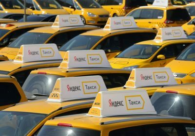 Служба «Яндекс.Такси» начала работу в Риге