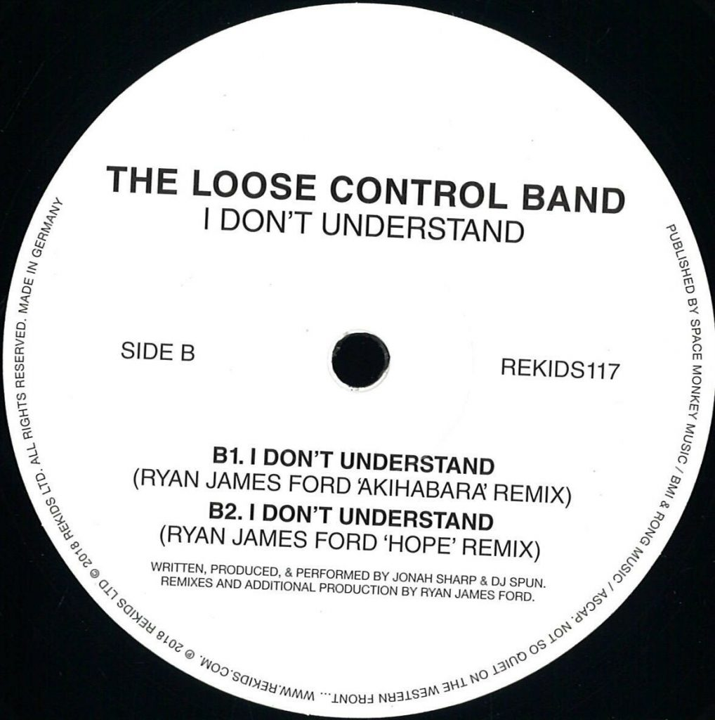The Loose Control Band – I Don't Understand (Rekids)