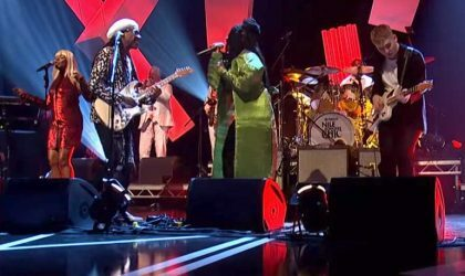 Nile Rodgers & Chic на BBC исполнили песню из нового альбома