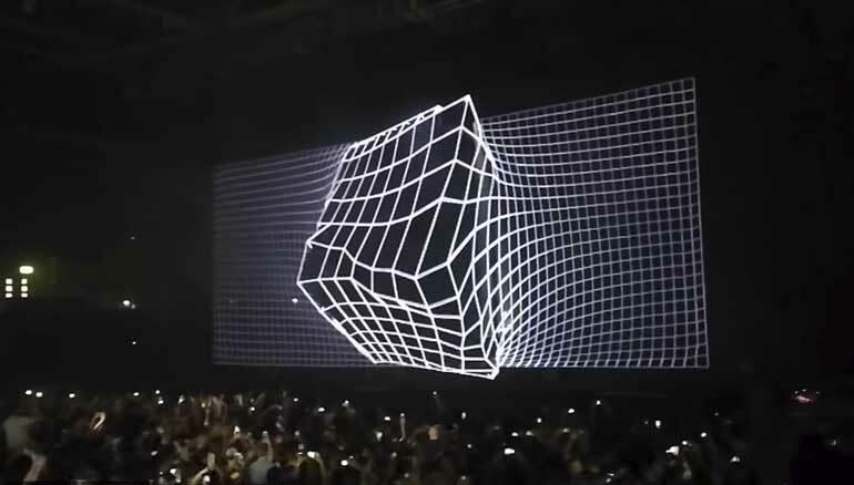В Глазго состоялась премьера нового шоу Eric Prydz Holo. Смотрите видео