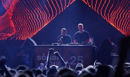 Смотрите сет Ben Klock и DJ Nobu на Sónar 2018 в Барселоне