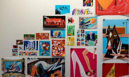 У иллюстратора Todd Terje открылась персональная выставка