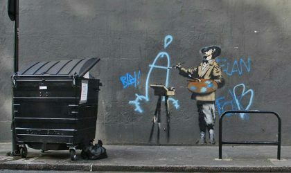 Banksy назвал несмешной неавторизованную выставку своих работ в Москве