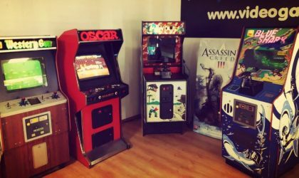 В Риге открылся музей игровых автоматов