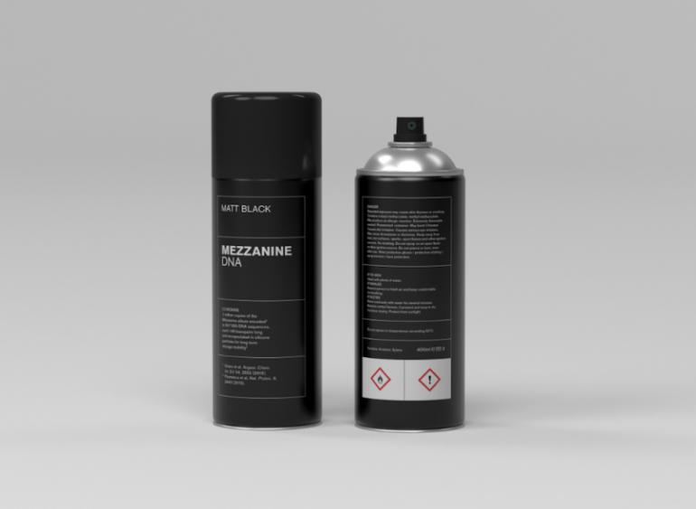 Mezzanine spray can