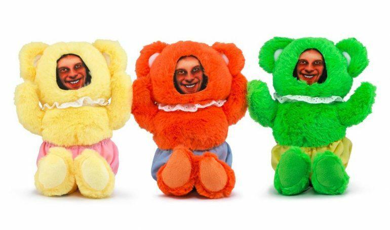 Aphex Twin teddy bears