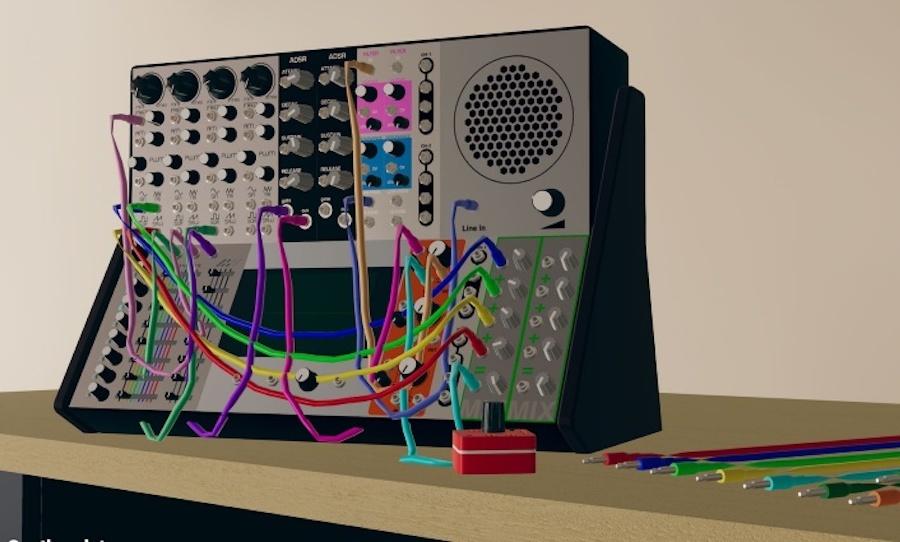 Скачайте бесплатный модульный синтезатор для виртуальной реальности