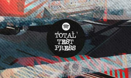 Плейлист Spotify: Total Test Press