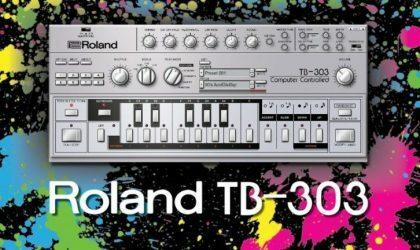 В канун 303 Day марка Roland выпустила VST-версию TB-303