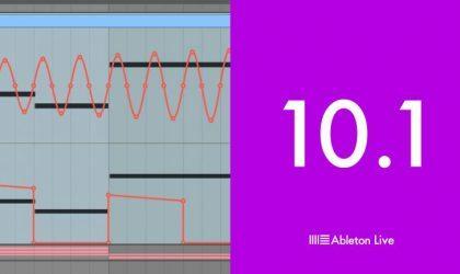Ableton выпустила бесплатное обновление Live 10.1