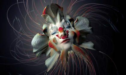 В новом клипе «Tabula Rasa» Björk предстает в виде аморфных цветочных созданий