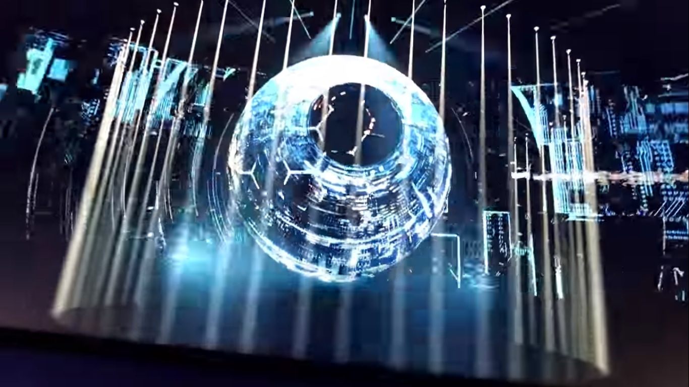 Эрик Придз показал тизер нового трехмерного шоу Epic 6.0: Holosphere