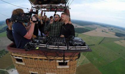 Вечеринка на воздушном шаре: литовцы Kodas устроили пати в небе