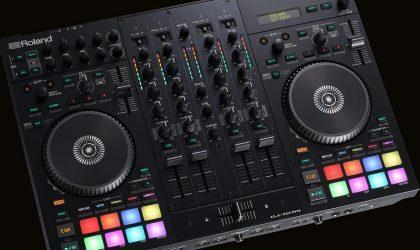 Roland анонсировала контроллер DJ-707M для мобильного диджеинга