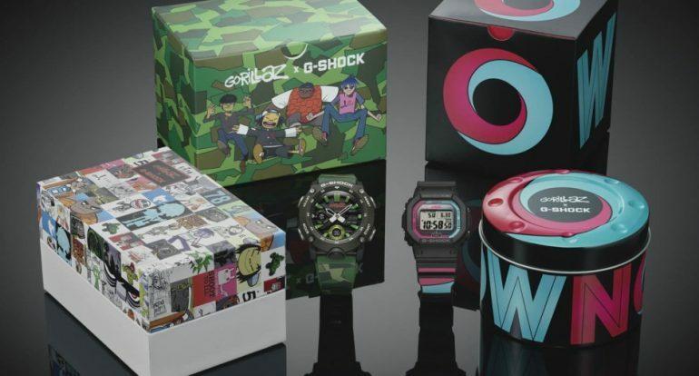 Gorillaz выпустят часы совместно с маркой G-Shock