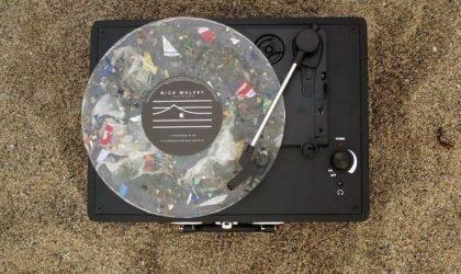 Вышли первые пластинки, сделанные из океанского пластика