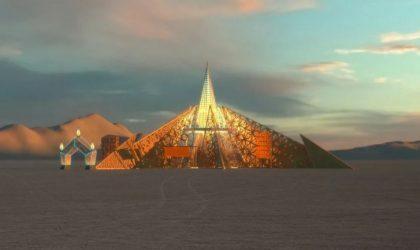 Burning Man-2020: как будут выглядеть горящий человек и храм