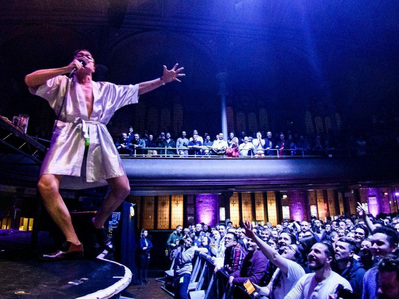 Смотрите выступление Марка Ребиллета в Амстердаме
