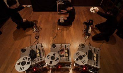 Open Reel Ensemble поделились записью нового перфоманса