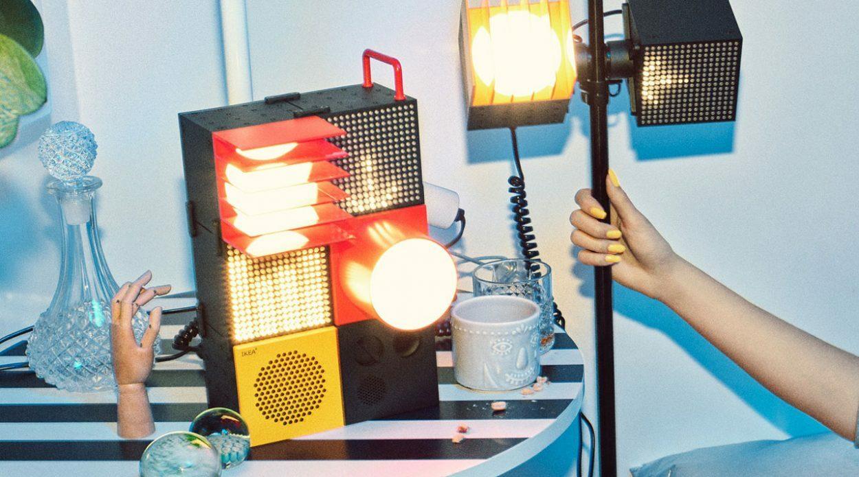 IKEA и Teenage Engineering выпустили домашний пати-набор