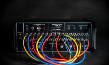 Moog анонсировала возвращение своего легендарного вокодера