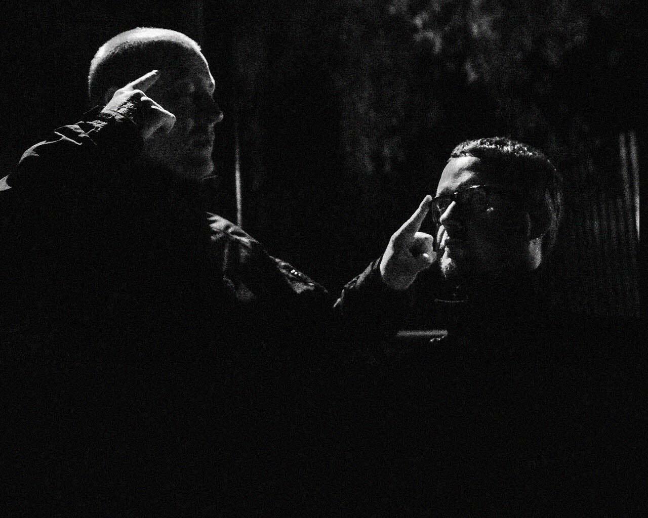 Taran & Lomov сыграли техно-сет на британском Threads Radio