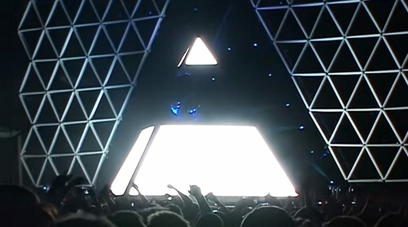 Смотрите новое видео выступления Daft Punk тура «Alive»